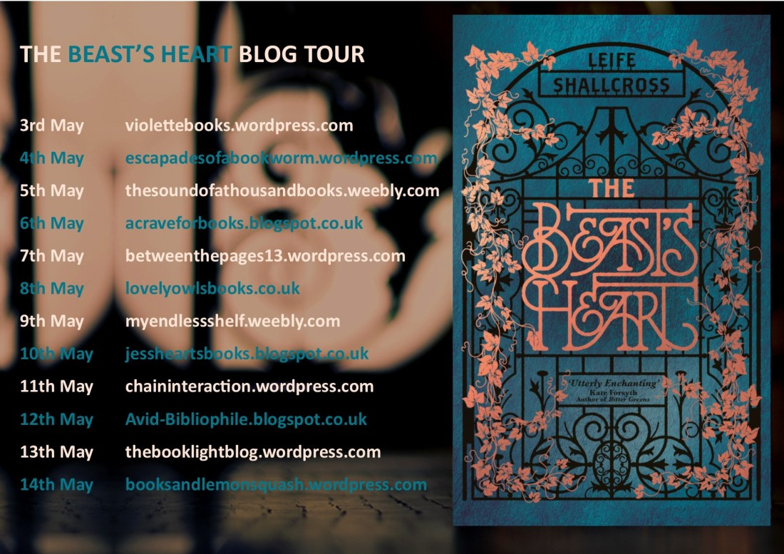 The Beast's Heart Blog Tour Poster