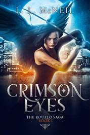 crimson eyes