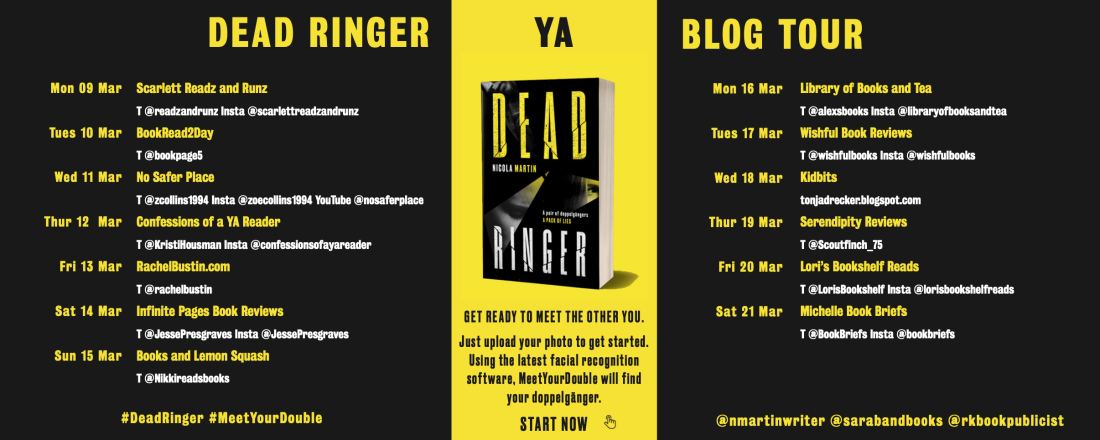 dead ringer blog tour